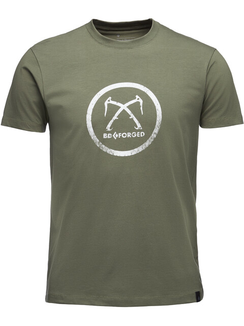 Black Diamond Forged - T-shirt manches courtes Homme - olive